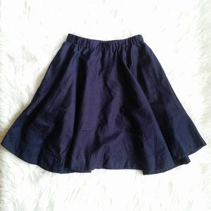 Crewcuts Girls Navy Blue Twirl Skirt Sz 12